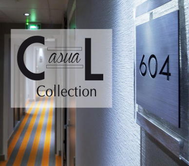 Collection Casual Signalétique Hôtel