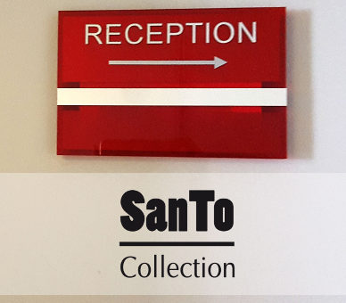 Collection Santo Signalétique Hôtel