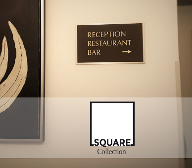 Collection Square Signalétique Hôtel