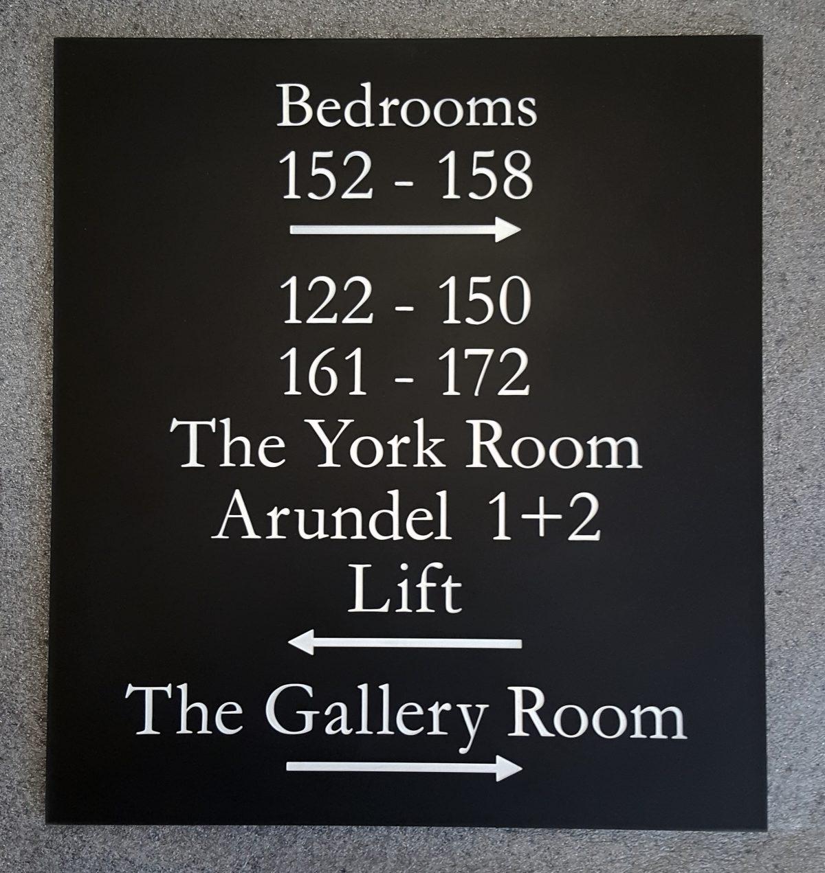 Numéros de chambre hôtel personnalisés