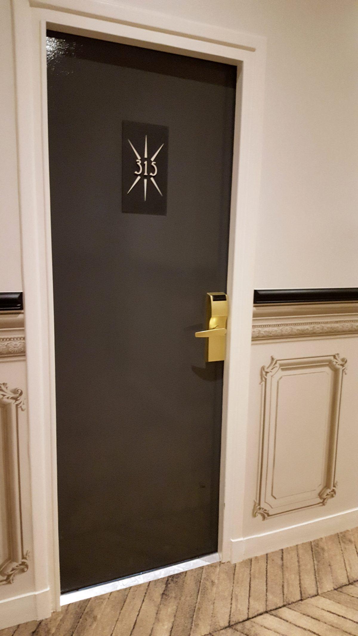Signalétique hôtel Paris Le Malte