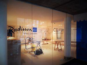 Signalétique hôtel Radisson Blu Lyon