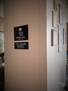 Signalétique hôtel Radisson Blu Nice