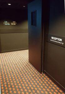 Signalétique hôtel Rocky Pop Chamonix
