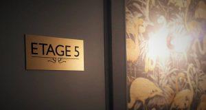 Signalétique hôtel Snob Paris